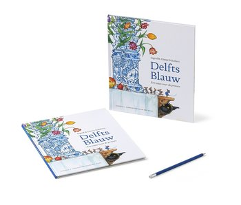 Book, Schubert - Delft Blue