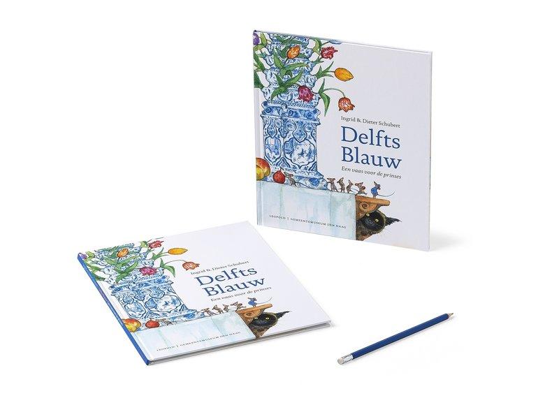 Book, Schubert - Delft Blue
