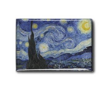 Fridge magnet, Starry Night, Van Gogh
