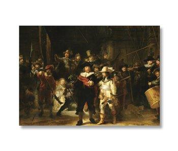 Cartel, 50x70, Rembrandt, La Guardia Nocturna