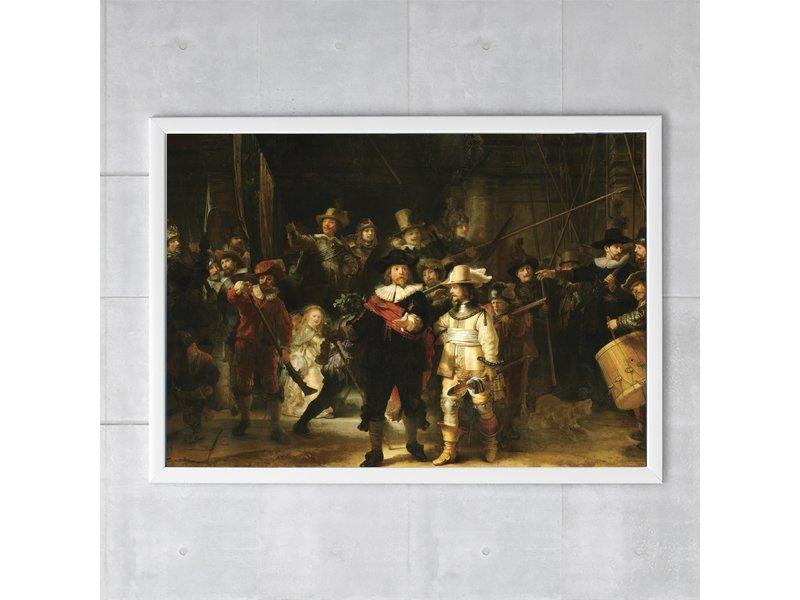 Affiche, 50x70, Rembrandt, La montre de nuit