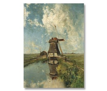 "Poster, 50x70, Windmill ""In the month of July"", Gabriel"