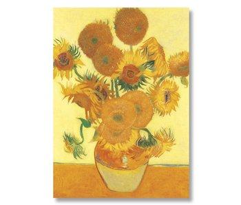 Poster 50x70, Zonnebloemen, Van Gogh