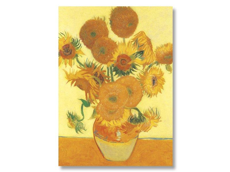 Cartel 50x70, Girasoles, Vincent van Gogh