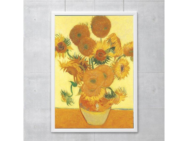 Poster 50x70, Zonnebloemen, Vincent van Gogh