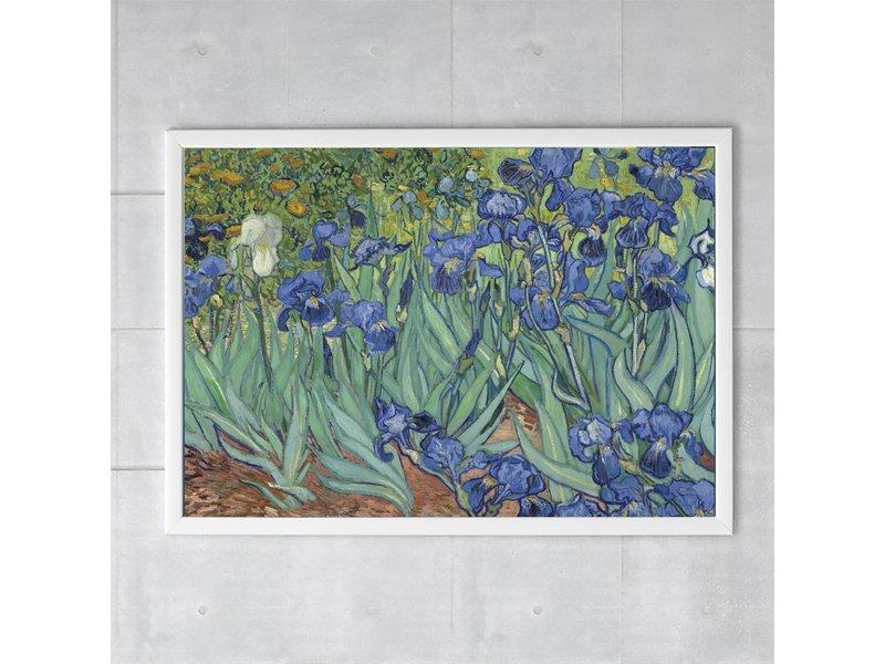 Cartel, 50x70 Irises Van Gogh