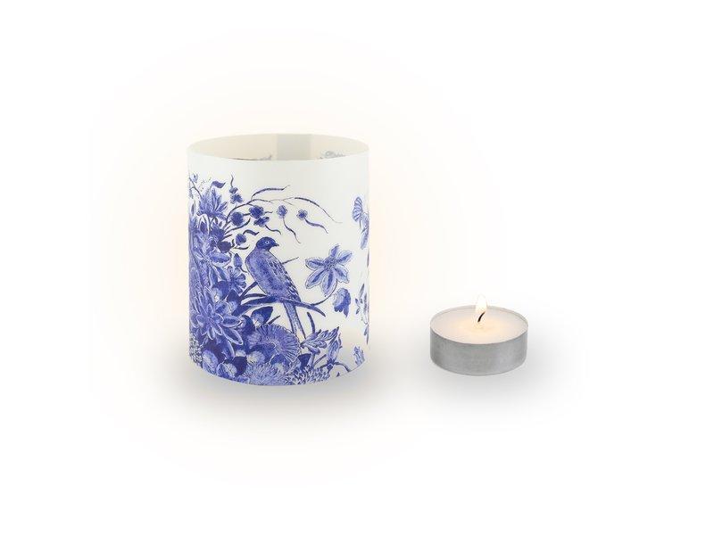 Wind lichtjes, Delfts blauwe vogels