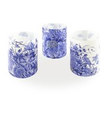 Candle shades, Delft Blue Birds