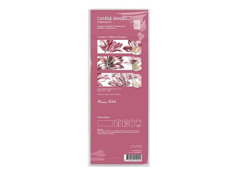 Windlichtjes, Merian, Drie tulpen
