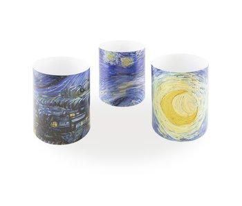Kerzenschirm, Van Gogh, Sternennacht