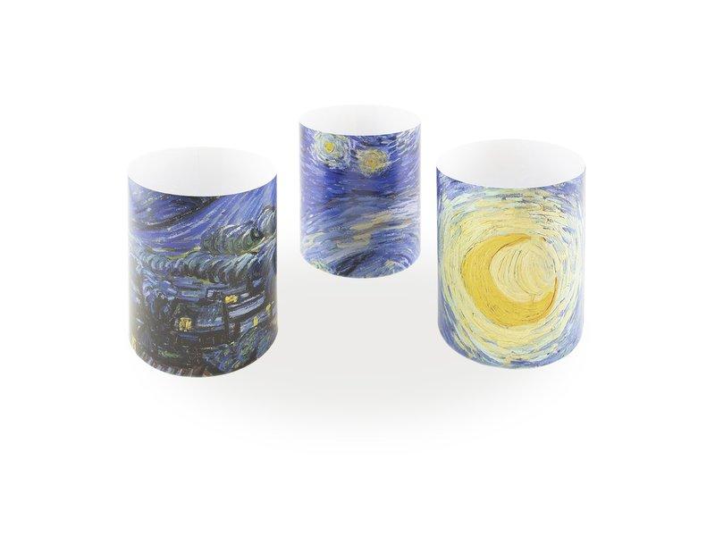 Portavelas, Van Gogh, Noches estrelladas