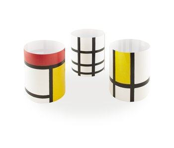 Candle shade , Mondrian