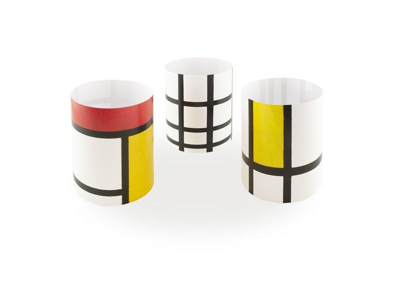 Candle shade, Mondrian