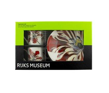 Service à expresso, tulipes, Marrel, Rijksmuseum