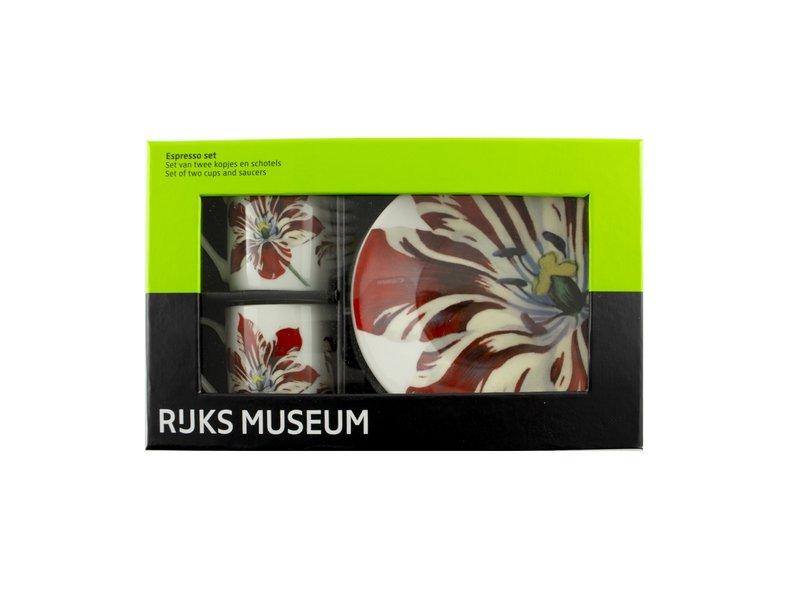 Espresso set , Tulpen Marrel, Rijksmuseum