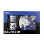 Service à expresso, oiseaux bleus de Delft, Rijksmuseum