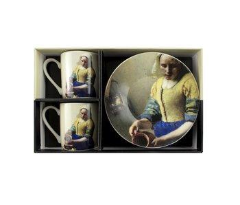 Espresso-set , Vermeer, Das Milchmädchen, Rijksmuseum