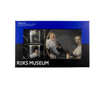 Espresso-Set, Marten & Oopjen Rembrandt, Rijksmuseum