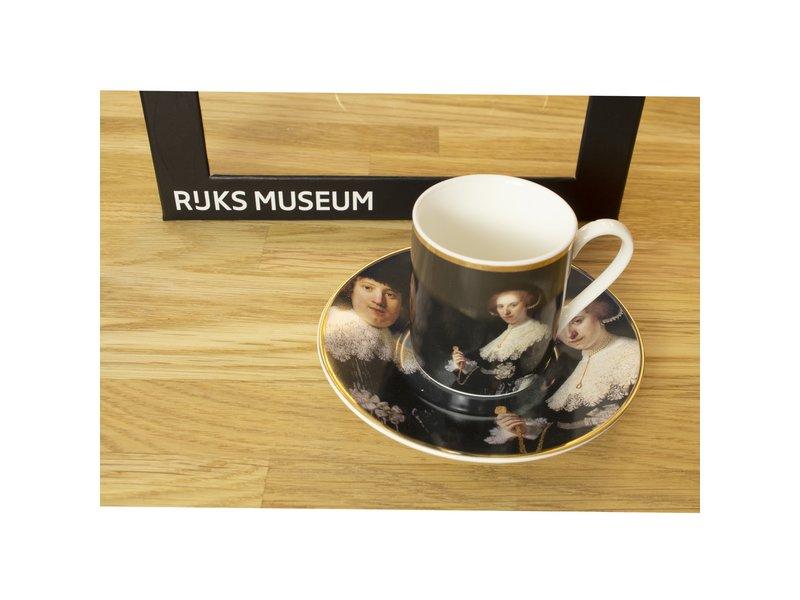 Espresso-Set, Marten & Opjen Rembrandt, Rijksmuseum
