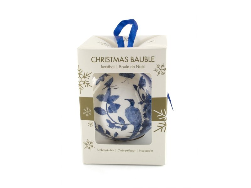 Christmas Ball, Delft Blue Birds