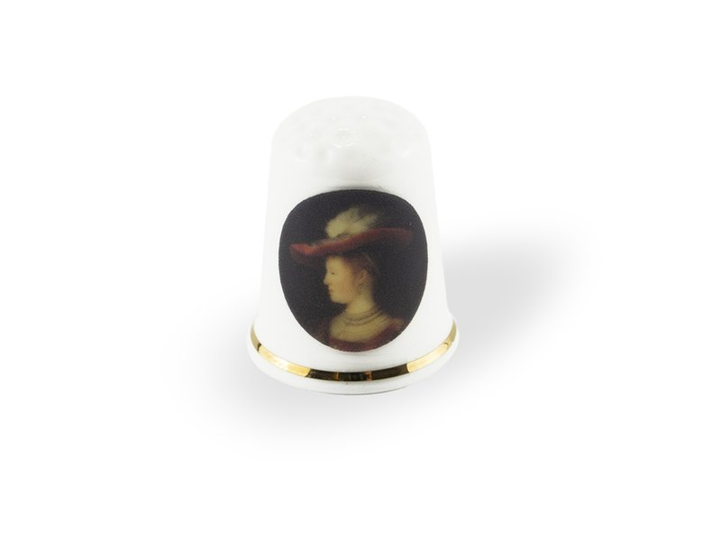 Vingerhoedje, Rembrandt, Saskia