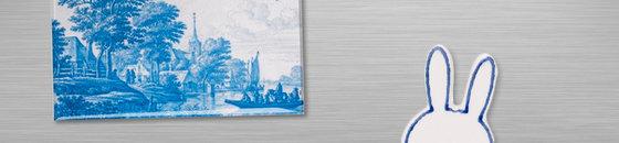 Imanes azules de Delft