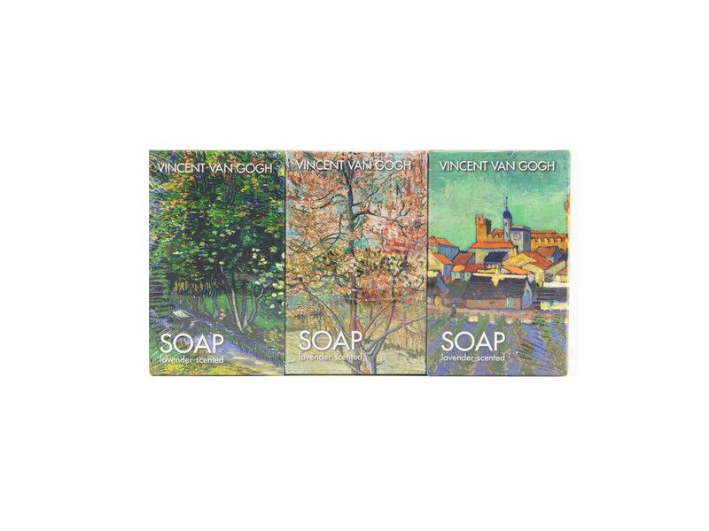 Juego de 3 piezas de jabón, Vincent van Gogh