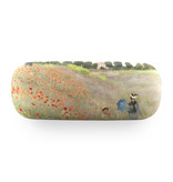 Brillenetui, Monet, Feld mit Mohnblumen