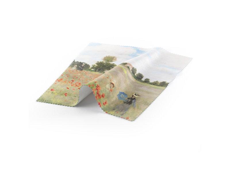 Linsentuch Monet, Feld mit Mohnblumen
