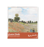 Lens cloth, Monet, field with poppies