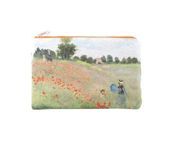 Neceser, Monet, Campo con amapolas