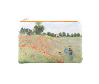 Pouch, Monet, Field with poppies