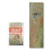Schal, Monet, Feld mit Mohnblumen