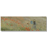 Bufanda, Monet, Campo con Amapolas