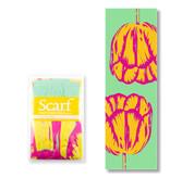 Sjaal, Tulip Pop Art lijn Groen