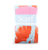 Sjaal Tulpen Pop Art lijn Roze