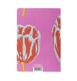 Softcover notitieboekje, A5, Tulp Pop Line Roze