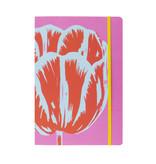 Carnet à couverture souple, A5, Tulip Pop Line rose