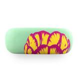 Brillenkoker Tulip Art Pop  line Groen
