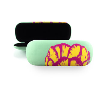 Spectacle Case, Tulip Pop Line Green