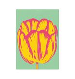 Geschirrtuch, Tulpe Pop Linie grün