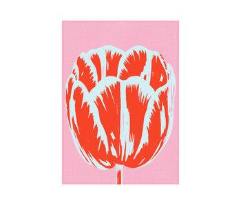 Geschirrtuch, Tulpe Pop Linie rosa