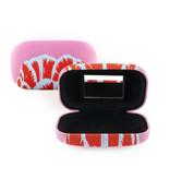 Lipstick-lens-reis doosje, Tulpen Pop Line Roze