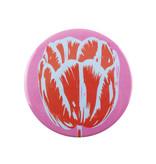 Espejo de bolsillo, Ø 80 mm, Tulip Pop Line Rosado