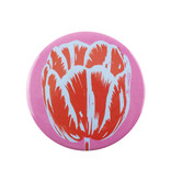 Miroir de poche, Ø 80 mm, Tulip Pop Line Pink