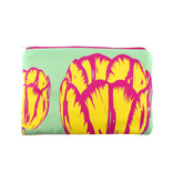 Pouch, Tulip Pop Line Green