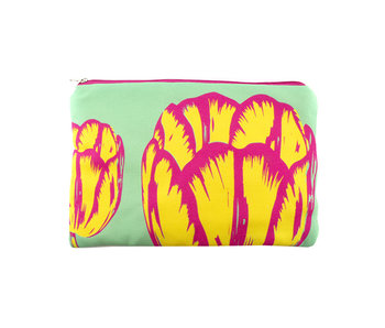 Etui, Tulp Pop-art,  Groen