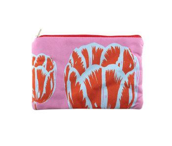 Etui, Tulp Pop-art Roze