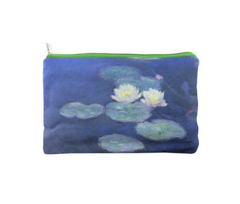 Pouch, Monet, Water lilies in evening light