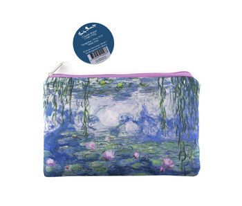 Pouch, Monet, Waterlilies